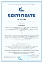 Certificate of safety (en)<br>Baelen Amin Food supplement Baelen Amin. Herbal Tea, 25 filter bags